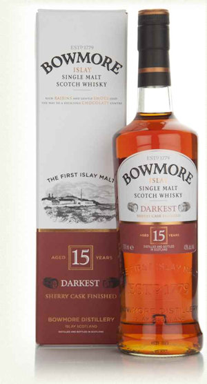 Bowmore Darkest 15 Year Old  (70cl 43%)