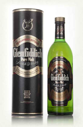 Glenfiddich 8 Year Old Pure Malt Whisky - Bottled in 1980's