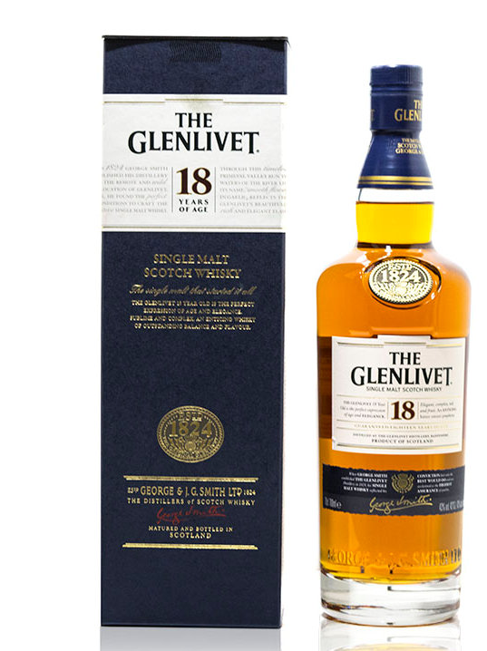 The Glenlivet 18 Year Old (70cl 43%)