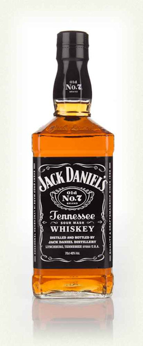 Jack Daniel's No7 (Black label) Tennessee Whiskey