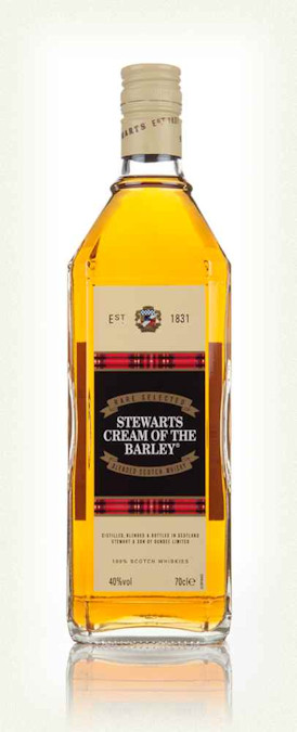 Stewarts Cream of the Barley 1l - 1990